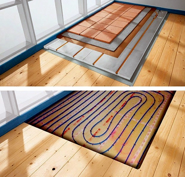 Lay underfloor heating - types, costs, advantages and disadvantages