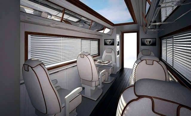 Luxury rv interior - Le Elemment Palazzo The Most Expensive Luxury Motorhome The World