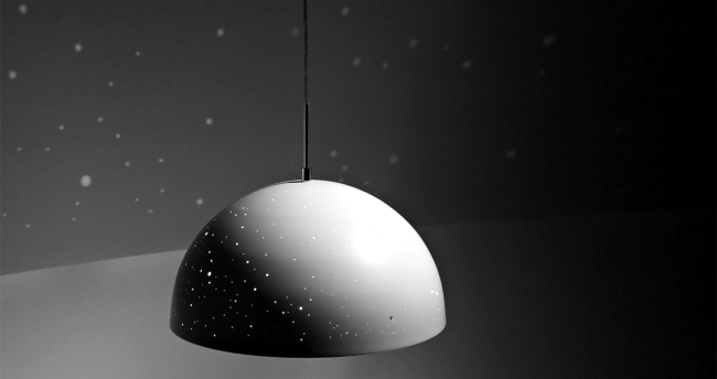 Led Lamp Starry Light brings the night sky in your bedroom