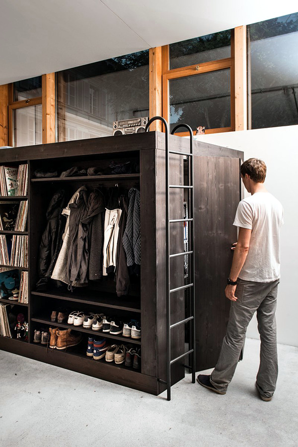 Living Cube Design as a practical solution for small apartment