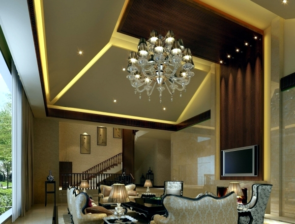 Living room ceiling design let the new light room Interior Design