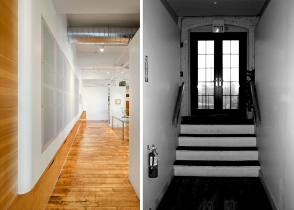 Loft Apartment Renovation with before - after comparison