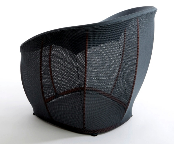 "Lounge chair ""membrane"" combines functionality with aesthetics"