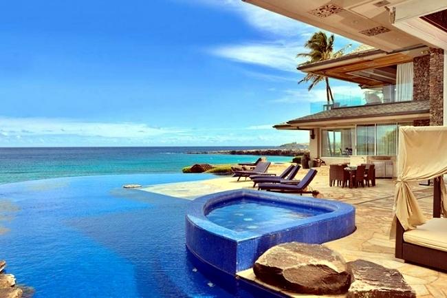 Luxury holiday villa in hawaii the fascinating jewel of for Pool design hawaii