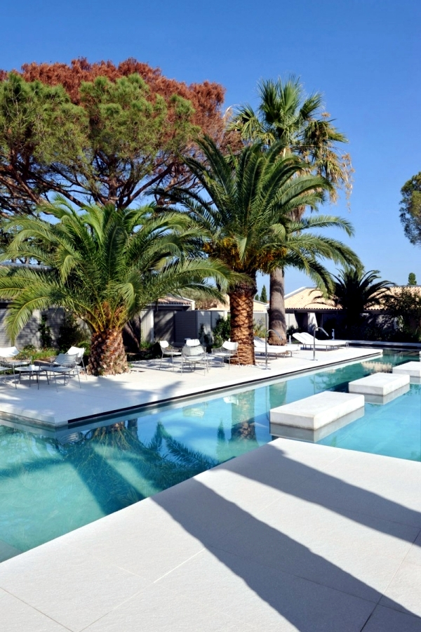 Luxury Hotel Sezz Saint-Tropez, designed by Studio Ory elegance and tranquility