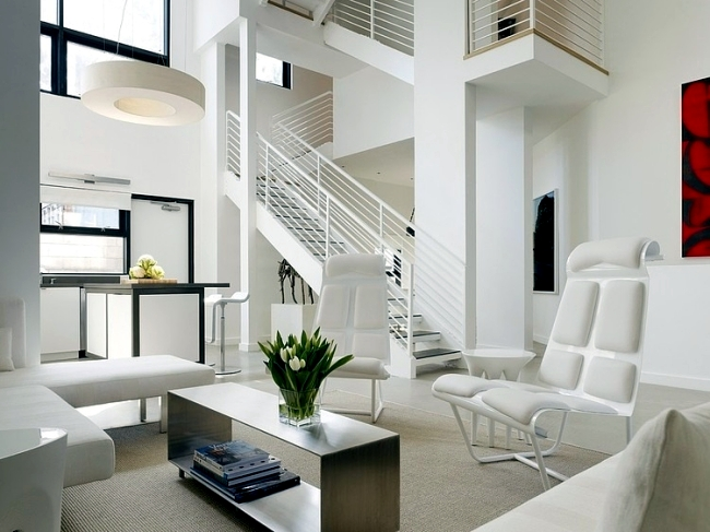 Luxury loft duplex apartment in Venice Beach offers high comfort