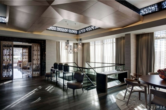 Luxurious Penthouse Dramatic Interior Luxury Penthouse Apartment On The Top Floor Of A Hotel In Cape Town