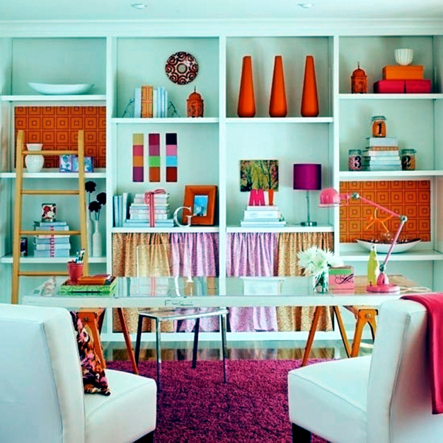 Wallpaper You Can Color make craft ideas with leftover wallpaper-creative home decoration