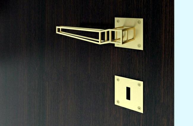 Make glamorous entrance - stainless steel door handle