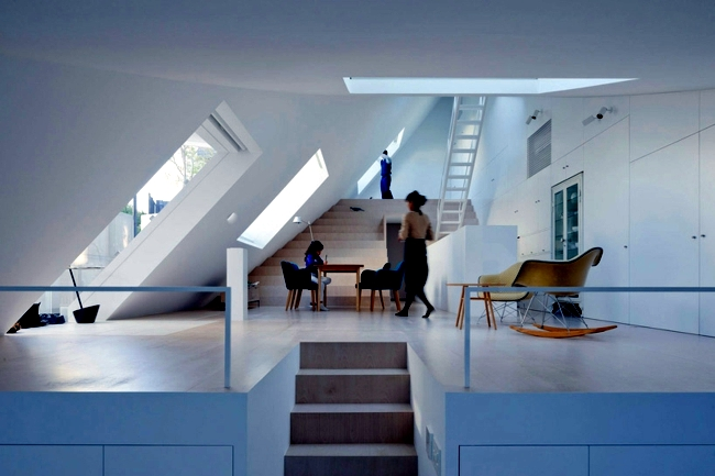 Make Japanese Style Roof Terrace House K By Sou Fujimoto Interior Design Ideas Ofdesign