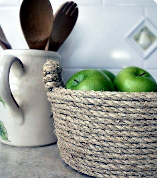 Make Of Sisal Rope Bowl Craft Ideas For Making Your Own Interior