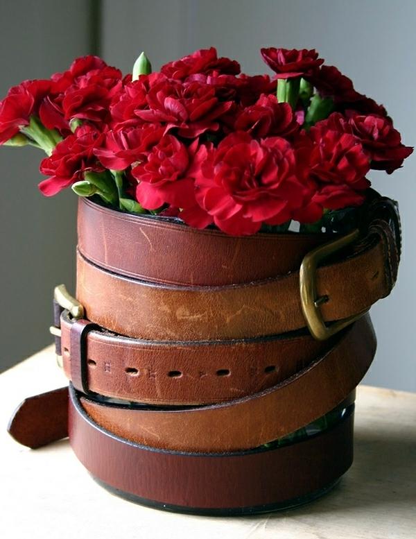 Make spring and summer decoration itself - 15 original vases