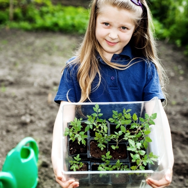Make the garden with children and for children - Tips for Parents
