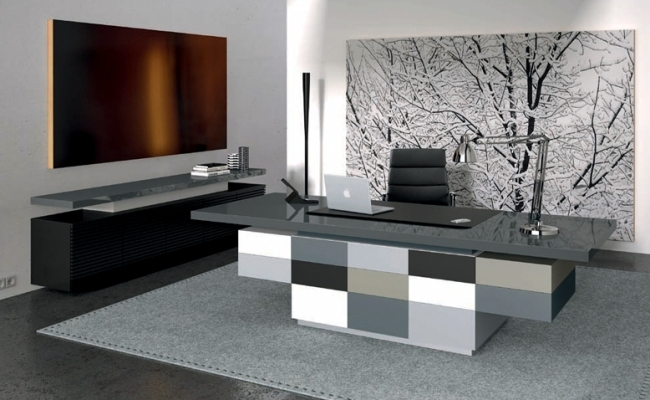 Management of ULTOM Italia Furniture for modern office furniture : modern-office-table - designwebi.com