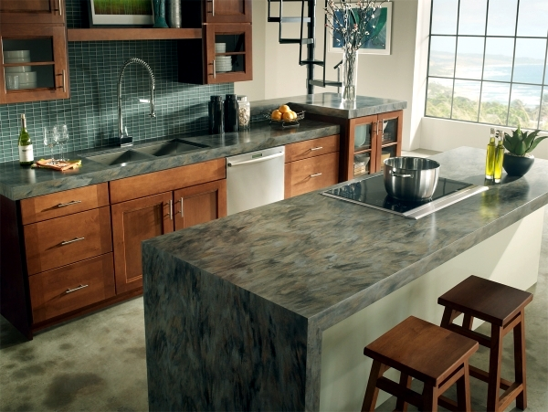 Superieur Marble Countertop For The Kitchen U2013 Ideas For Individual Design. Countertops