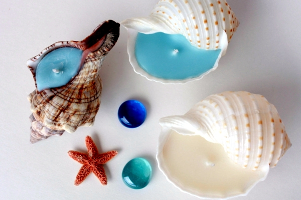 Maritime Decoration Make With Shells Themselves 15 Craft Ideas