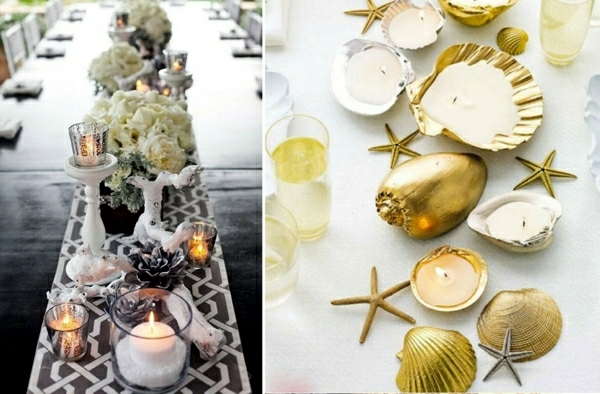Maritime decoration make with shells themselves - 15 craft ...