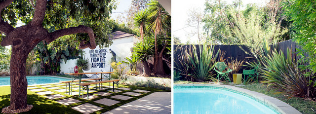 Mike Jacobs landscape a house in pure California style