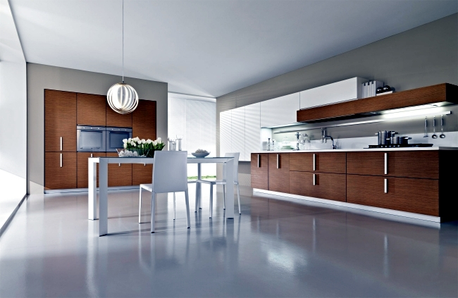 Minimalism in the kitchen Elegant lines and quality materials