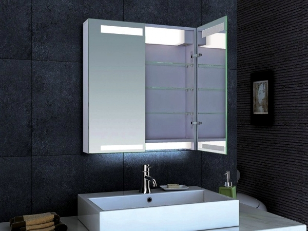 Mirror Cabinet In The Bathroom Designs For Minimalist