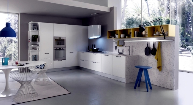 Modenes of pedini kitchen design impresses with innovative for Kitchen design solutions