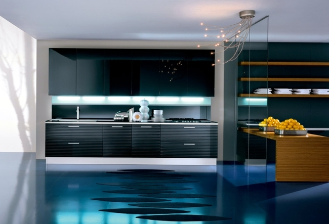 Modenes of Pedini Kitchen design impresses with innovative solutions