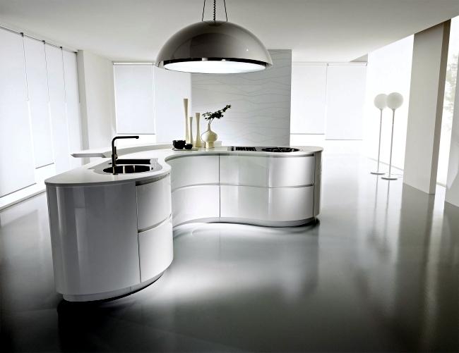 Modenes of Pedini Kitchen design impresses with innovative solutions