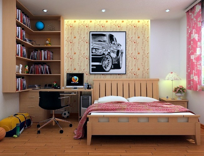 Modern and creative decorating set - 101 ideas for youth room