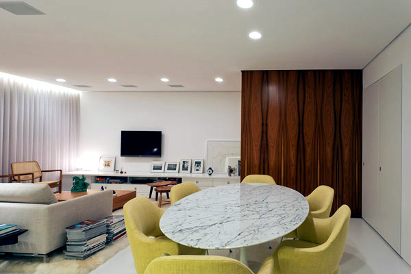 chic and modern decor apartment