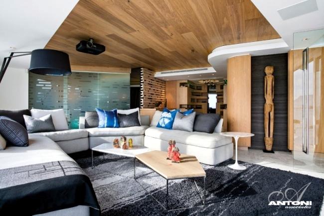 Modern Apartment Design Eclectic Decorating Style In Cape Town - Modern-apartment-design