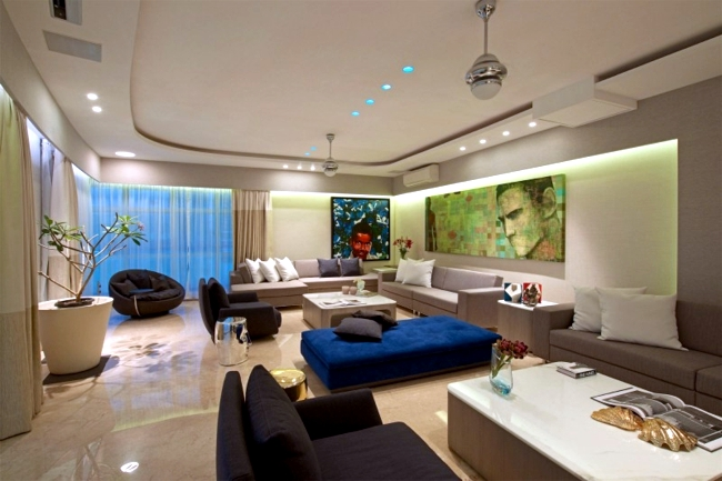 Modern apartment interior design ideas glamorous impressed with ...