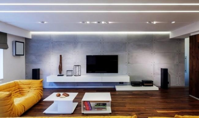 Modern apartment with minimalist interior design in Bucharest ...