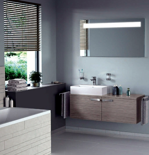 Modern bathroom equipment - practical design tips