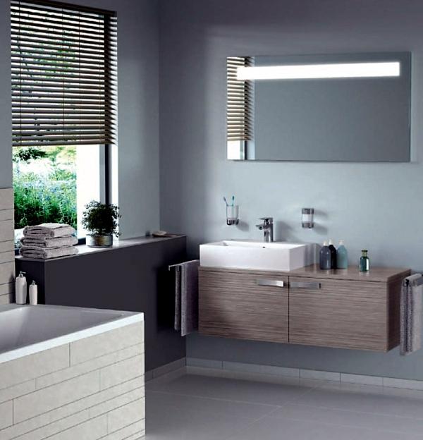 Modern bathroom equipment - practical design tips
