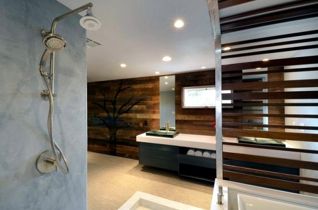 Modern Bathroom Renovation by GTB and a spa-like atmosphere
