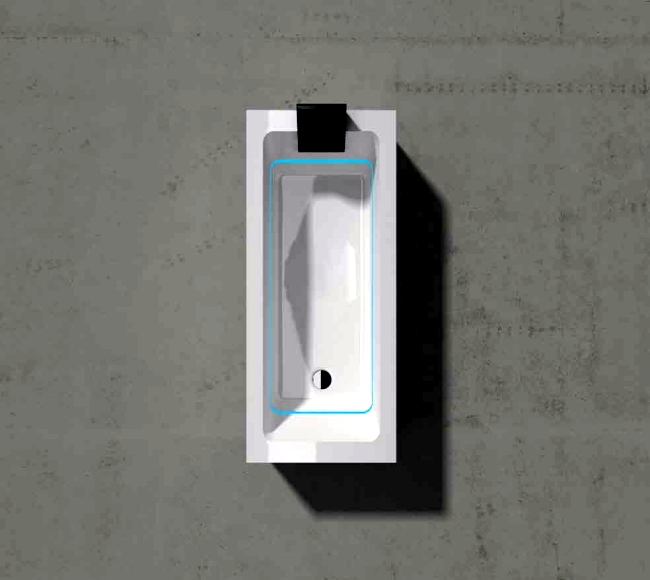 Modern Bathtub With Led Lighting - Dream of Treesse