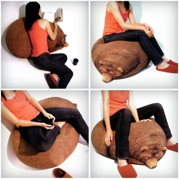 Modern bean bags - Practical, comfortable and great for young and old