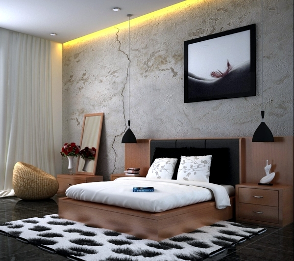 Modern Bedroom Colors Brown Conveys Luxury And Comfort