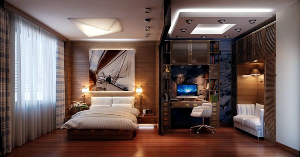 Sea theme bedroom