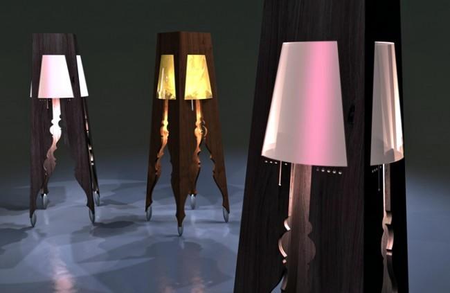 Floor lamp design