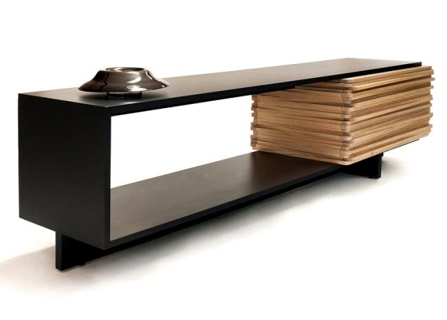 Modern Designer Wooden Sideboard Stack Buffet By Hector Esrawe