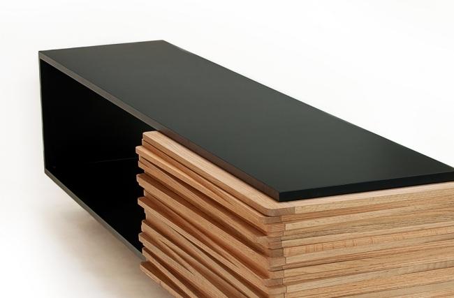 modern designer wooden sideboard stack buffet by hector esrawe interior design ideas. Black Bedroom Furniture Sets. Home Design Ideas