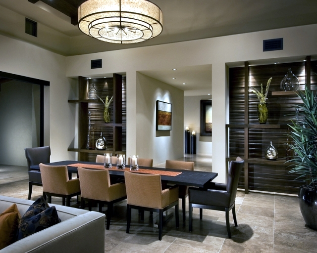 Modern dining room set - Choose furniture, colors and decoration