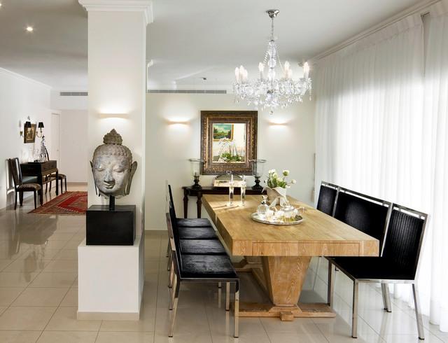 Modern dining room set - Choose furniture, colors and decoration