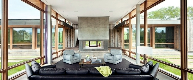 Modern Farm House Design by Highline Partners in Montana, USA