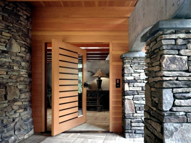 The Entrance Is A Special Area   It Connects And Separates At The Same Time  The Home And Garden. Modern Door Met Today For Many Functions.