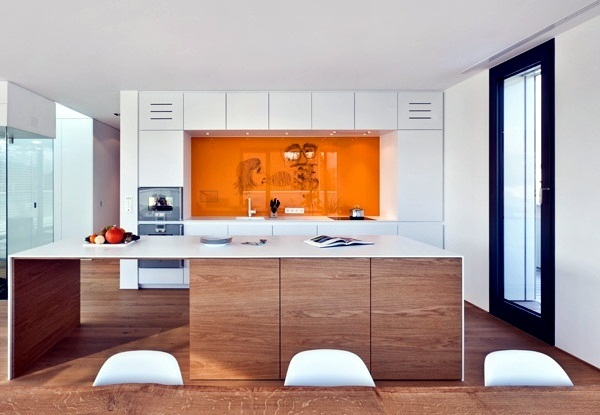 Phenomenal Modern Glass Kitchen Splash Back Wall Designs Offer Protection In Largest Home Design Picture Inspirations Pitcheantrous