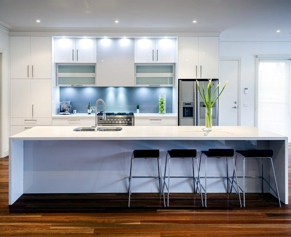 Modern Glass Kitchen Splash Back Wall Designs Offer