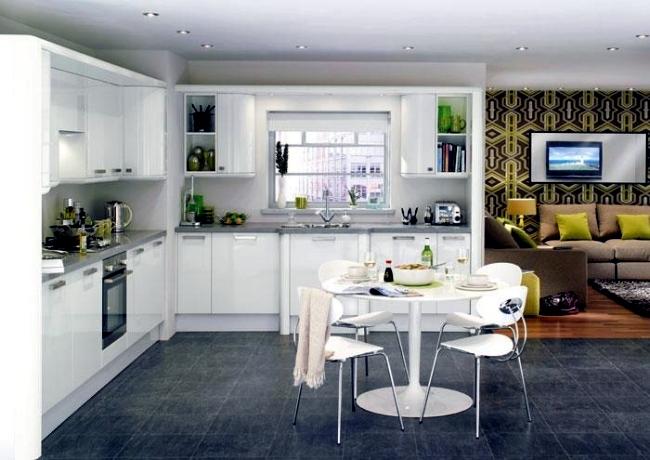 Modern High Gloss Kitchen In White 20 Dream Kitchens