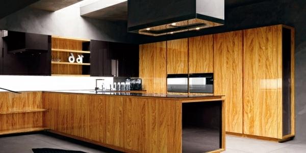 Modern high gloss kitchens with Italian design